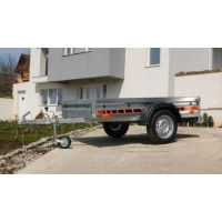 Remorca auto 750 kg - dimensiune 204x109 cm