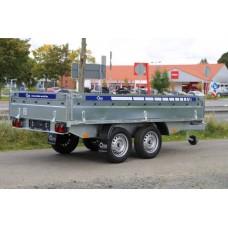 Remorca Platforma 750 kg Cu 2 Axe Si Dimensiune Utila 250x150 cm