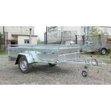 Remorca auto 750 kg Boro  Majster dimensiune 245x132 cm
