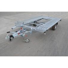 Platforma transport auto 1500 kg dimesiune 350x192 cm