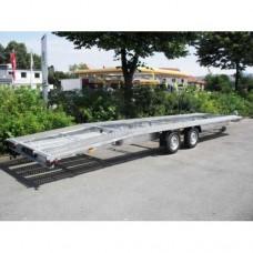 Remorca platforma transport auto Niewiadow Indiana