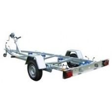 Peridoc transport barci Rotaru Trailers 900 kg dimensiune 500 x 180 cm