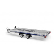 Trailer Auto Profesional 5x2.1 m Cu Basculare - 2700 kg