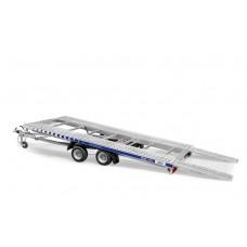 Trailer Auto Profesional 5.5x2.1 m Cu Basculare - 2700 kg