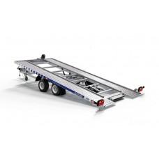 Trailer Auto Profesional 4.5x2.1 m Cu Rampe Integrate- 2700 kg