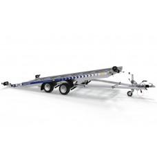 Trailer Auto Profesional 5.5x2.1 m Cu Rampe Integrate- 2700 kg