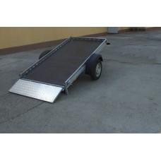 Remorca transport ATV 750 kg cu dimensiune 240x125 cm