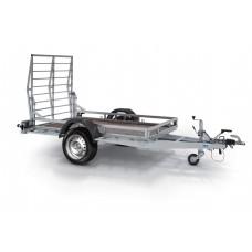 Remorca Transport Utilaje 1500 kg cu dimensiune 253x140 cm