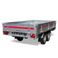 Remorca 750 kg tip platforma 254x153x30 cm