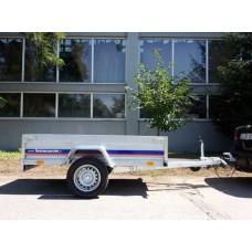 Remorca auto 750 kg dimensiune 204*115 cm cu sistem franare