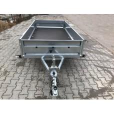 Remorca 750 kg Basculabila 263x132 cm Suspensie Cu Arcuri
