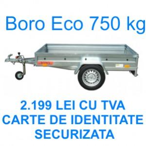 Remorca 750 kg 204x109 cm